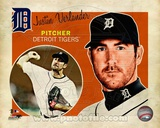 Justin Verlander 2012 Studio Plus Photo