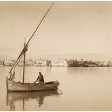 Suez Harbor, 1895 Photographic Print by  Scherl