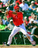 Albert Pujols 2012 Action Photo