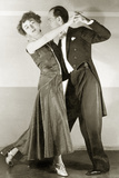 Couple While Dancing Tango, 1929 Photographic Print by Scherl