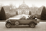 Mercedes-Benz Model 'Nuerburg', 1928 Photographic Print by  Scherl