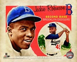 MLB Jackie Robinson 2012 Studio Plus Photo