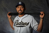 Peoria, AZ - February 27: San Diego Padres photo day - Edinson Volquez Photographic Print by Rich Pilling