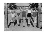 Children at Lake Tegel Beach, 1938 Photographic Print by  Scherl