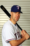 Surprise, AZ - February 28: Texas Rangers Photo Day - David Murphy Photographic Print by Jamie Squire