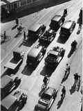 Berlin Traffic, 1938 Photographic Print by  Scherl