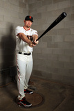 Scottsdale, AZ - February 28: Colorado Rockies Photo Day - Aubrey Huff Photographic Print by Christian Petersen
