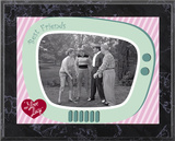 I Love Lucy - The Golf Game plaque Prints