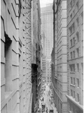 Street Canyon in New York, 1926 Photographic Print by Scherl