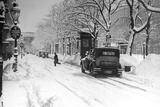 Winter Ringstrasse in Vienna, 1931 Photographic Print by  Scherl