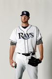 Port Charlotte, FL - February 29: Tampa Bay Rays Photo Day - Joe Maddon Photographic Print by Jonathan Ferrey