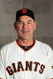 Scottsdale, AZ - March 01: San Francisco Giants Photo Day - Bruce Bochy Photographic Print by Jamie Squire