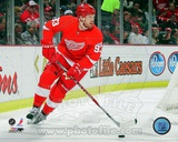Johan Franzen 2011-12 Action Photo