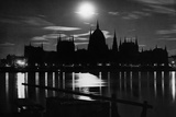 Budapest at Night, 1934 Photographic Print by Scherl