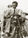 Motorbike, 1932 Photographic Print by Scherl 