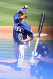 Peoria, AZ - March 07: Texas Rangers v San Diego Padres - Yu Darvish Photographic Print by Christian Petersen
