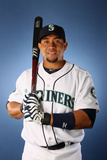 Peoria, AZ - February 21: Seattle Mariners Photo Day - Ichiro Suzuki Photographic Print by Christian Petersen