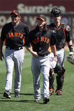 Surprise, AZ - March 12: San Francisco Giants v Kansas City Royals - Luke Hochevar Photographie par Christian Petersen