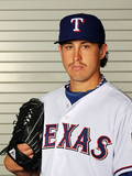 Surprise, AZ - February 28: Texas Rangers Photo Day - Derek Holland Photographic Print by Jamie Squire