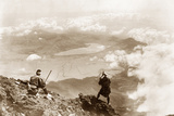 View from the Top of Fujiyama, 1909 Photographic Print by Scherl