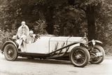 Mercedes-Benz Sports Car, Model 's', 1928 Photographic Print by Scherl