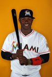 Jupiter, FL - February 27: Miami Marlins Photo Day - Hanley Ramirez Photographic Print by Marc Serota