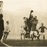 Soccer, 1914 Photographic Print by  Scherl