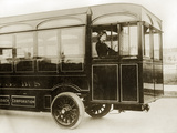 Bus Driver in London, 1913 Photographic Print by  Scherl