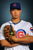 Mesa, AZ - February 27: Chicago Cubs Photo Day - Darwin Barney Photographic Print by Jamie Squire