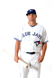 Dunedin, FL - March 02: Toronto Blue Jays Photo Day - Luis Valbuena Photographic Print by Jonathan Ferrey