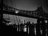 Queensboro Bridge in New York, 1934 Photographic Print by  Scherl