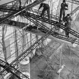 Construction of the Airship 'Hindenburg', 1934 Photographic Print by  Scherl