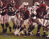 Glen Coffee Rush vs Auburn Autographed Photo (Hand Signed Collectable) Fotografía