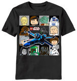 Youth: Lego Star Wars - Wing Chase T-shirts