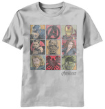 The Avengers - Square Biz Shirt