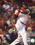 David Ortiz ALCS Game 4 Home Run Autographed Photo (Hand Signed Collectable) Photo