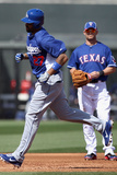 Surprise, AZ - March 09: Los Angeles Dodgers v Texas Rangers - Matt Kemp Photographic Print by Christian Petersen
