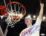 Gerry McNamara Cutting Down Net Horizontal Photo Fotografía