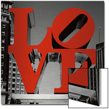 Love Philly Affiche par Terrible