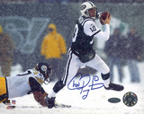 Chad Pennington Snow vs. Steelers Autographed Photo (Hand Signed Collectable) Fotografía