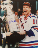 Mark Messier Cup on Side Vertical Photo Photo