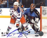 Scott Gomez Screening Goalie Foto