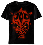 Star Wars - Maul Stencil Shirts