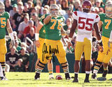 John Sullivan Over Pointing on Line VS. USC Photo Fotografía