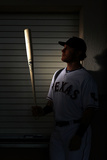 Surprise, AZ - February 28: Texas Rangers Photo Day - Josh Hamilton Photographie par Jamie Squire
