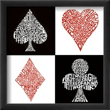 Poker Hands Poster