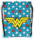 Wonder Woman Logo Drawstring Bag