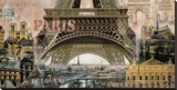 Paris I Stretched Canvas Print by John Clarke