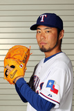 Surprise, AZ - February 28: Texas Rangers Photo Day - Koji Uehara Photographic Print by Jamie Squire