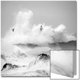 Storm in Cantabria Kunstdrucke von Cano 